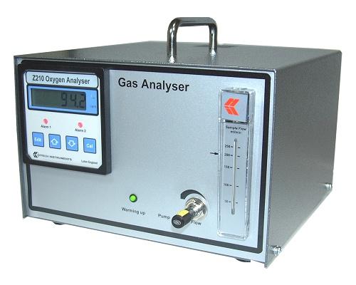 Analizador de ox geno de circonio hitech instruments z210 for Analizador de oxigeno