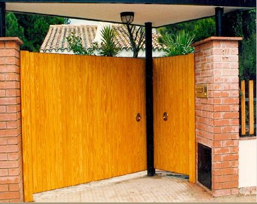 Puertas batientes seguridad puertas batientes for Puertas batientes interior