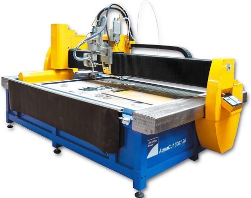Machine of cut by chorro of water CNC Microstep Aquacut