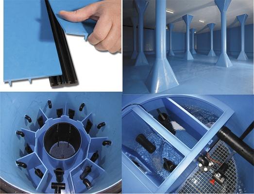 Sistema de revestimiento para almacenamiento de agua potable ...