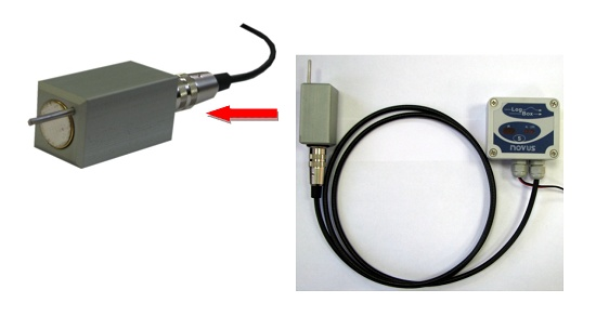 Foto de Sistema de medida y registro de CO2