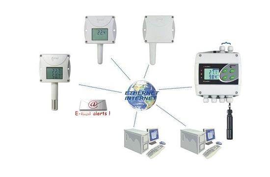 Foto de Sensores de temperatura y humedad