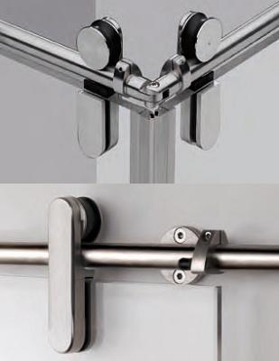 Mecanismos para puertas correderas sv 145a inox sv - Rieles puerta corredera ...