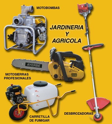 Maquinaria de jardiner a y agr cola maquinaria y equipos for Equipo de jardineria