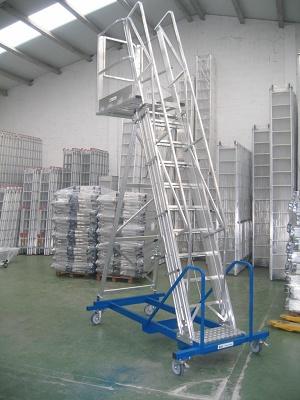Escalera de almac n telesc pica svelt cisterna - Escaleras para almacen ...