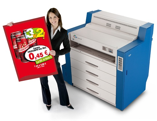 Picture Of Large Size Laser Printer