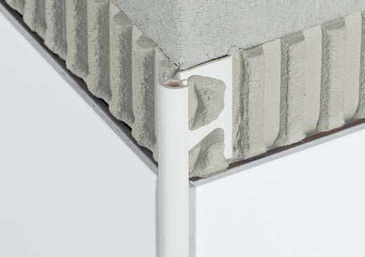 Cantoneras y remates schl ter rondec materiales para la for Pose plinthe carrelage angle saillant