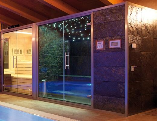 Ducha Con Baño Turco:Baños de vapor Inbeca Stone line – Piscinas, spas y saunas – Baños