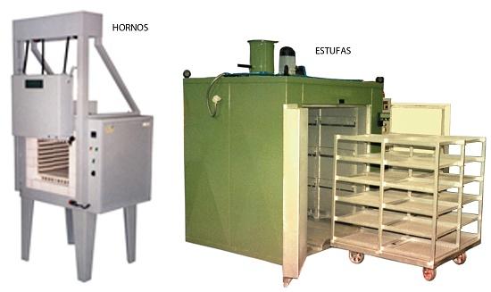 Hornos y estufas industriales metalmec nica hornos y for Estufas industriales