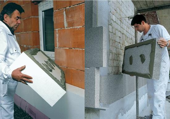 Sistema de aislamiento t rmico exterior sate materiales para la construcci n sistema de - Materiales de aislamiento termico ...