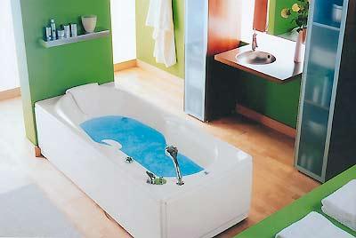 """Foto de """"Un baño relajado y cómodo"""""""