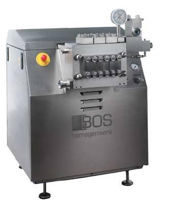 Homogeneizadores de alta presión Bos Homogeneisers MG3..