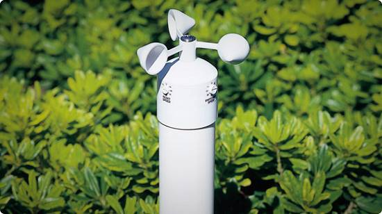 Sensores de viento hunter wind click agricultura for Sensor de viento