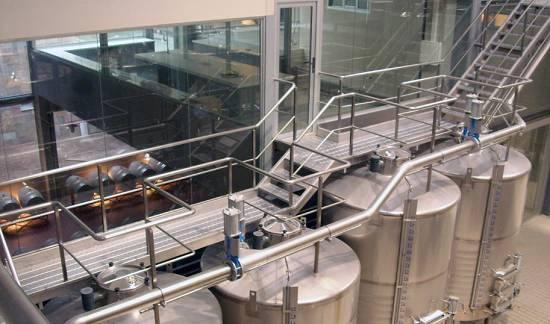 Pasarelas Y Escaleras Parcitank Industria Alimentaria