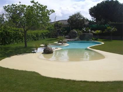 Piscina de arena natursand rehabilitaci n piscinas spas for Piscinas de arena natursand