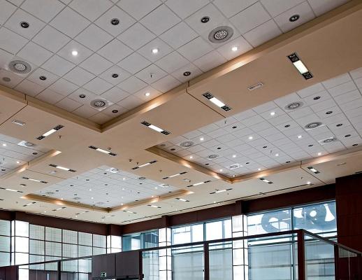 Falsos techos y suelos t cnicos materiales para la - Materiales para techos falsos ...