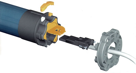Motores Para Cerramientos Somfy Hipro Materiales Para La