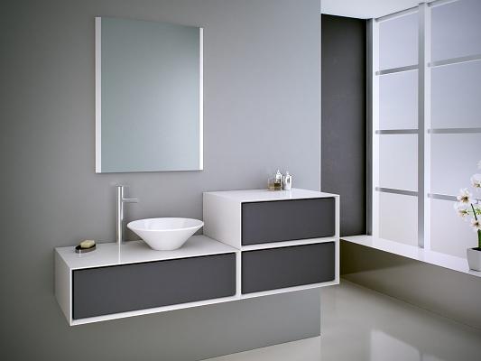 Muebles de baño Grupo Sonimobel Illinois  Ferretería  Muebles de