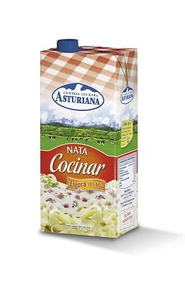 Nata para cocinar central lechera asturiana distribuci n for Nata para cocinar mercadona