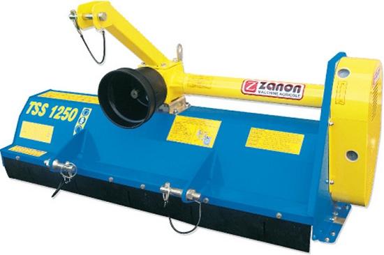 Trituradora desbrozadora zanon tss agricultura for Zanon trincia