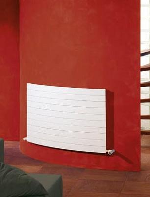 Radiadores de dise o curvos zehnder nova materiales para - Radiadores electricos decorativos ...