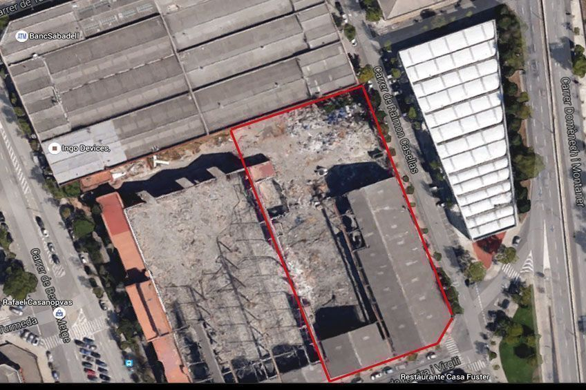 Fotografía de Solar industrial en venta en Sabadell