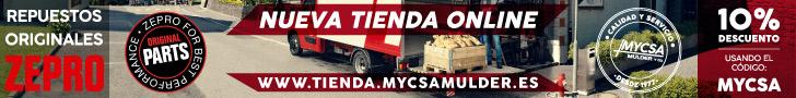 Mycsa, Mulder y Co., S.L.. Repuestos originales Zepro
