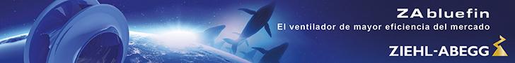ZA bluefin el ventilador de mayor eficiencia del mercado