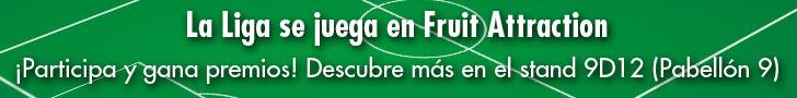 La liga se juega en Fruitt Attraction �Participa y gana premios!