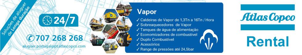 Atlas Copco Rental:  caldeiras de vapor de 1,3 a 16 toneladas/hora, sobreaquecedores de vapor ...