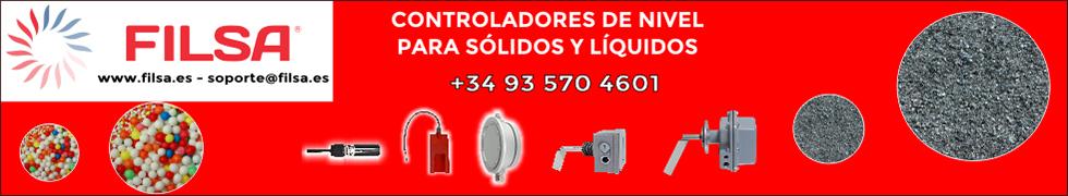 Talleres Filsa: controladores de nivel para sólidos y líquidos