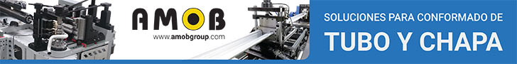 Amob: soluciones para conformado de tubo y chapa