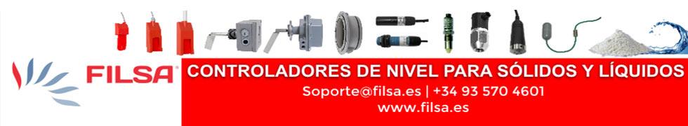 Filsa: controladores de nivel para sólidos y líquidos