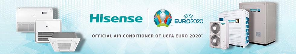 Hisense: official air conditioner of uefa euro 2020