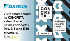 Daikin - Visite o nosso stand na CONCRETA e descubra as últimas novidades Pav. 2, Stan E30