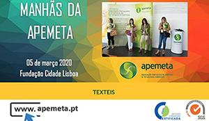 Apemeta 5 de março 2020 Fundaçao Cidade Lisboa