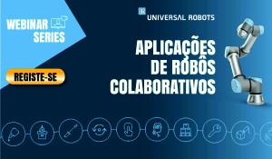 Universal Robots aplicacões de róbõs colaborativos