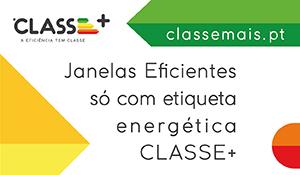 Adene janelas eficientes só com etiqueta energética CLASSE+