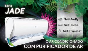 Efcis série Jade o AR condicionado com purificador AR