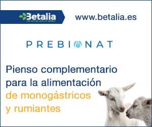Betalia: pienso complementario para la alimentación de mongástricos y rumiantes