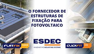 Esdec: o fornecedor de estruturas de fixação para fotovoltaico