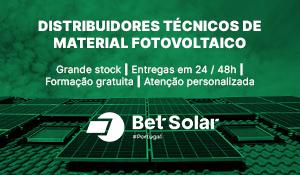 Bet Solar: distribuidores técnicos de material fotovoltaico