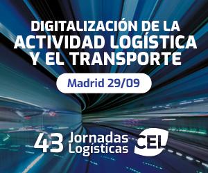 Digitalización de la actividad logística y el transporte Madrid 29/09. 43 Jornadas Logísticas CEL
