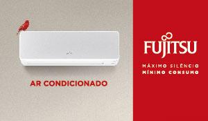 Fujitsu ar condiionado mámixo siléncio mínimo consumo