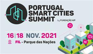 Portugal Smart Cities Summit 16 - 18  de nov. 2021 FIL - Parque das Nações