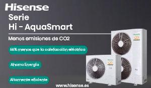 Hisense: serie HI - AquaSmart menos emisiones de CO2