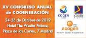 XV Congreso Anual de Cogeneració