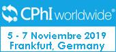 CPHI Worldwide: 5 - 7 Noviembre 2019 Frankfurt Alemania