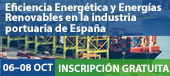 Eficiencia energética y energías renovables en la industria portuaria de España Webinar gratuito 6 - 8 de octubre 2020