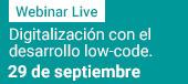 Siemens Digital Industry Software: Digitalización con el desarrollo low-code 29 septiembre